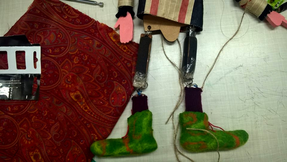 morris felted boots