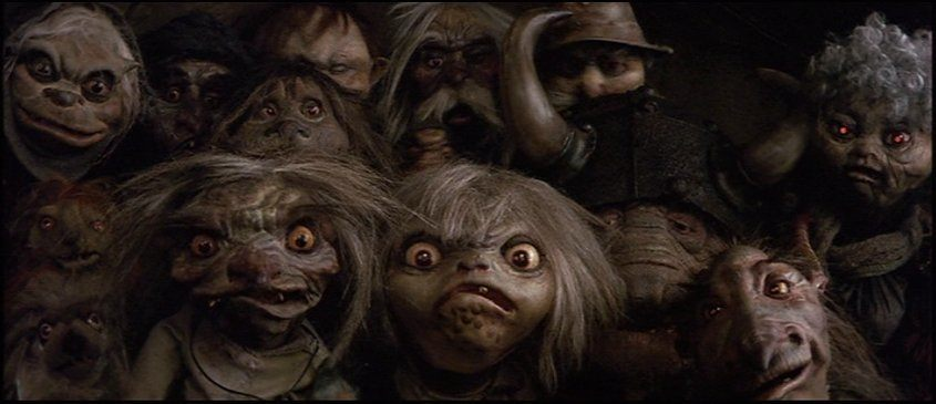 Labyrinth Goblins - Patrick Amber Labyrinth Movie Wallpaper